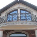 półokrągła balustrada