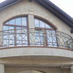 zaokrąglona balustrada