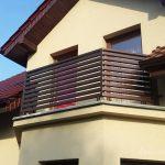 balustrada z drewna