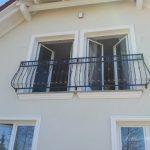tradycyjna balustrada balkonu