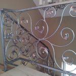 balustrada schodów z wzorem