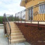 ładna balustrada tarasowa