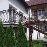balustrada tarasu ze schodami