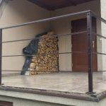 przygotowywanie balustrady