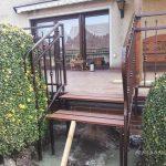 balustrada przed domem