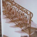 wzorzysta balustrada