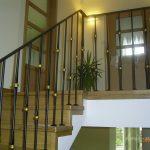 nowoczesna balustrada schodów