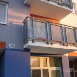 nowoczesna balustrada balkonu