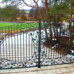 ładny wzór - brama