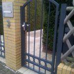 bramka metalowa wejściowa
