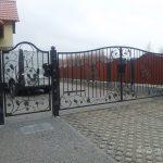 furtka i brama wjazdowa na posesje