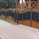 efektowne ogrodzenie