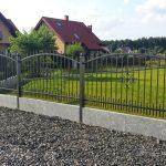 metalowa brama