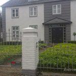 nowoczesne ogrodzene
