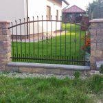 ogrodzenie metalowe przęsło