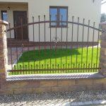 ogrodzenie jedno przęsło