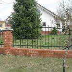 ogrodzenie na cegłach