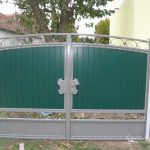 brama kolor paneli turkusowy