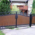 ładna brama panelowa