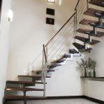 ciekawy wzór schodów